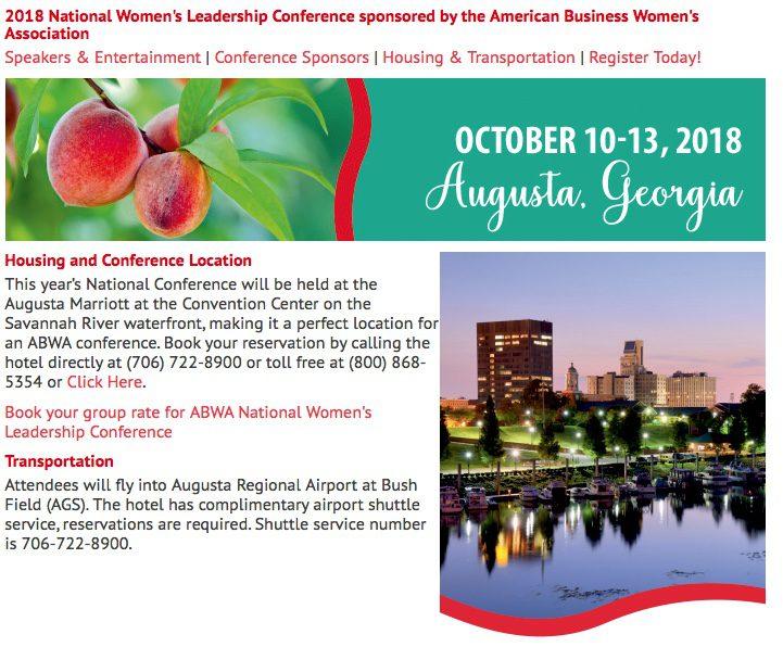 2018 ABWA National Conference